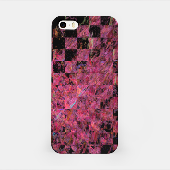 Thumbnail image of Fractal with abstract heart iPhone Case, Live Heroes