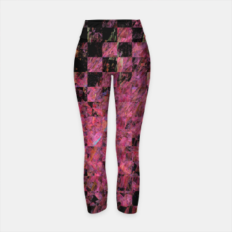 Thumbnail image of Fractal with abstract heart Yoga Pants, Live Heroes