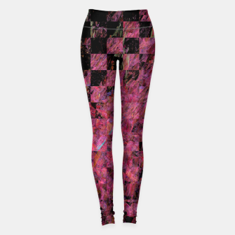 Thumbnail image of Fractal with abstract heart Leggings, Live Heroes