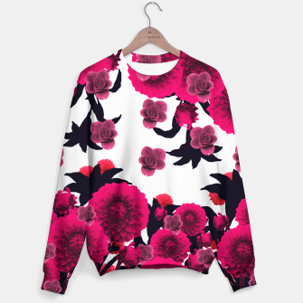 Thumbnail image of CUTE RAINING FLOWERS Sweater, Live Heroes