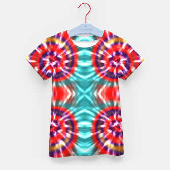 Thumbnail image of Colorful Batik Pattern IV T-Shirt für Kinder, Live Heroes
