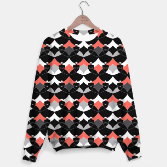 Thumbnail image of Abstract geometrical pattern Sweater, Live Heroes