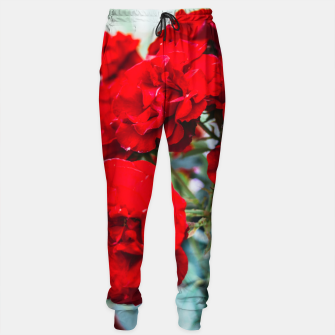 Thumbnail image of Red Roses Flowers Sweatpants, Live Heroes