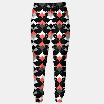 Thumbnail image of Abstract geometrical pattern Sweatpants, Live Heroes