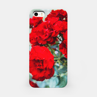Thumbnail image of Red Roses Flowers iPhone Case, Live Heroes
