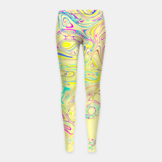 Thumbnail image of Marble Girl's Leggings, Live Heroes
