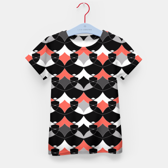 Thumbnail image of Abstract geometrical pattern Kid's T-shirt, Live Heroes
