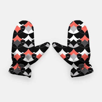 Thumbnail image of Abstract geometrical pattern Gloves, Live Heroes