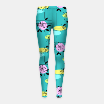 Thumbnail image of Abstract modern pattern Girl's Leggings, Live Heroes