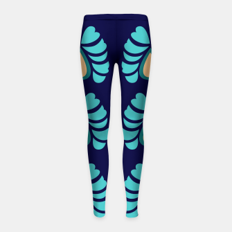 Thumbnail image of GIRLS ARTISTIC LEGGINGS : MOROCCO, Live Heroes