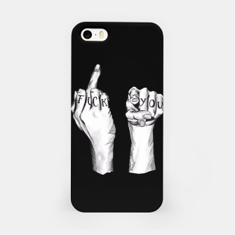 Thumbnail image of Fuck You iPhone Case, Live Heroes