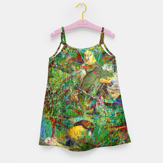 Thumbnail image of Parrots Girl's Dress, Live Heroes