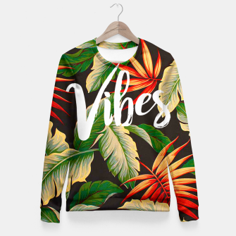 Thumbnail image of Vibes Fitted Waist Sweater, Live Heroes