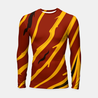 Thumbnail image of Rashguard FIT CLOTHES MOROCCO BROWN GOLD, Live Heroes