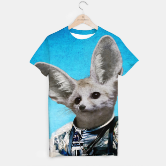 Thumbnail image of Captain Fennec T-shirt, Live Heroes
