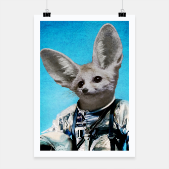 Thumbnail image of Captain Fennec Poster, Live Heroes