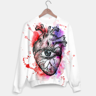 Thumbnail image of The heart Sweater, Live Heroes
