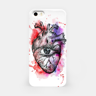 Thumbnail image of The heart iPhone Case, Live Heroes