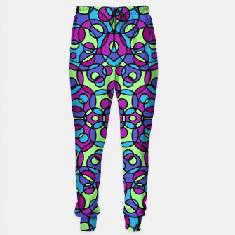 Thumbnail image of RETRO CIRCLES Sweatpants, Live Heroes