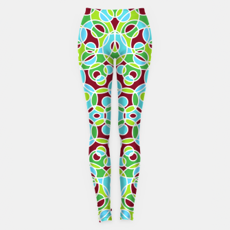 Thumbnail image of HISPTER GEOMETRIC SHAPES Leggings, Live Heroes