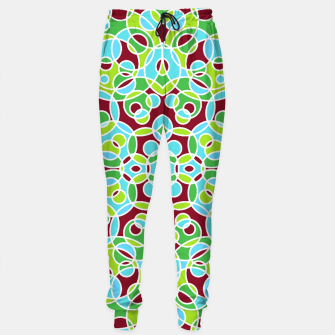 Thumbnail image of HISPTER GEOMETRIC SHAPES Sweatpants, Live Heroes