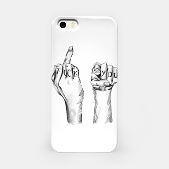 Thumbnail image of Fuck u iPhone Case, Live Heroes