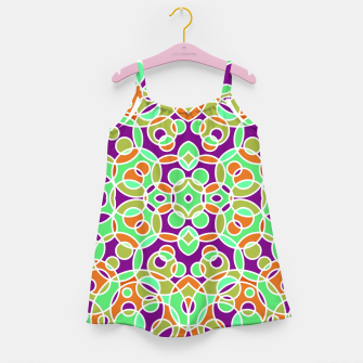 Thumbnail image of PSYCHEDELIC PATTERN  Girl's Dress, Live Heroes