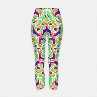 Thumbnail image of PSYCHEDELIC PATTERN  Yoga Pants, Live Heroes