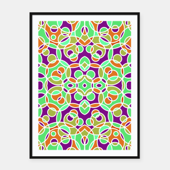 Thumbnail image of PSYCHEDELIC PATTERN  Framed poster, Live Heroes