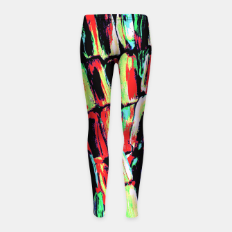 Thumbnail image of Fiesta Sugarcane Girl's Leggings, Live Heroes