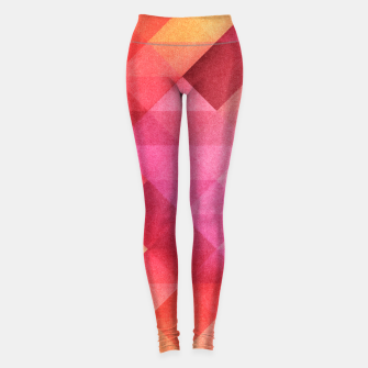 Thumbnail image of Fall pattern Leggings, Live Heroes