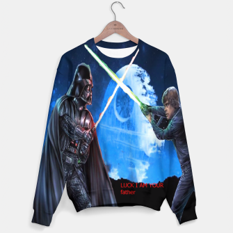 Thumbnail image of Darth Vader A Star Wars Story Sweater, Live Heroes