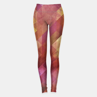 Thumbnail image of Fall pattern 2  Leggings, Live Heroes
