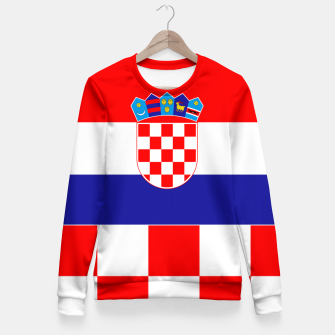 Miniaturka CROATIA 3 Fitted Waist Sweater, Live Heroes