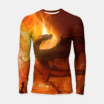 Thumbnail image of Dragon's world Longsleeve Rashguard , Live Heroes