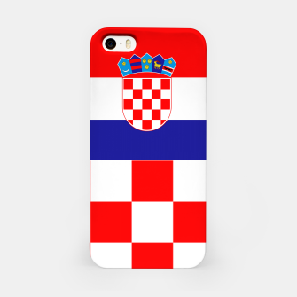 Miniaturka CROATIA 3 iPhone Case, Live Heroes