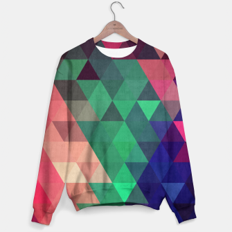 Thumbnail image of Colorful and geometric pattern Sweater, Live Heroes