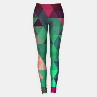 Imagen en miniatura de Colorful and geometric pattern Leggings, Live Heroes