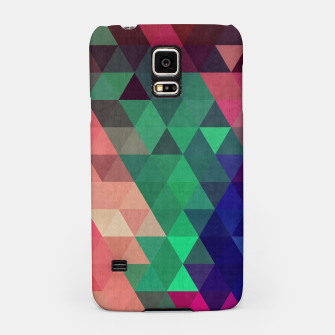 Miniaturka Colorful and geometric pattern Samsung Case, Live Heroes