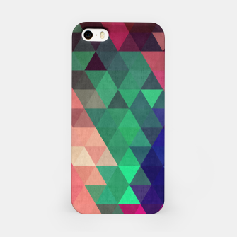 Miniaturka Colorful and geometric pattern iPhone Case, Live Heroes