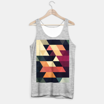 Miniaturka Colorful and geometric pattern Tank Top regular, Live Heroes