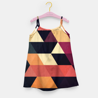 Thumbnail image of Colorful and geometric pattern Girl's Dress, Live Heroes