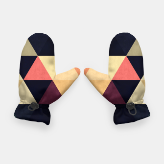Thumbnail image of Colorful and geometric pattern Gloves, Live Heroes