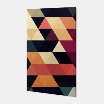 Miniaturka Colorful and geometric pattern Canvas, Live Heroes
