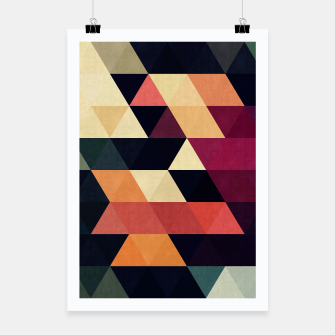 Miniature de image de Colorful and geometric pattern Poster, Live Heroes