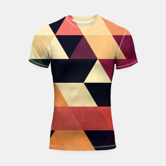 Miniature de image de Colorful and geometric pattern Shortsleeve Rashguard, Live Heroes