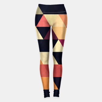 Miniaturka Colorful and geometric pattern Leggings, Live Heroes