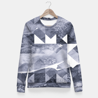 Miniaturka Watercolor Fitted Waist Sweater, Live Heroes