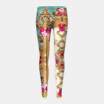 Thumbnail image of abstract ornamentical art  Girl's Leggings, Live Heroes