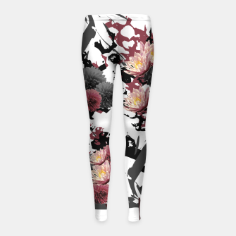 Thumbnail image of FLORET CLUSTER Girl's Leggings, Live Heroes
